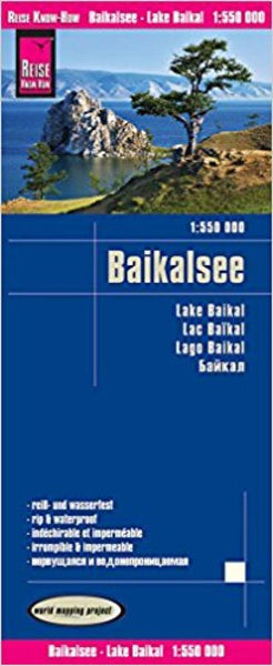 Buy map Lake Baikal, Russia by Reise Know-How Verlag