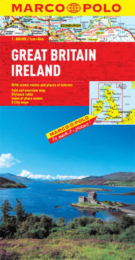 Buy map Great Britain and Ireland by Marco Polo Travel Publishing Ltd