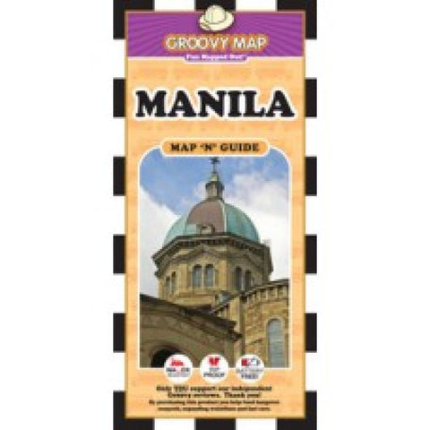 Buy map Manila, Philippines, Map n Guide by Groovy Map Co.