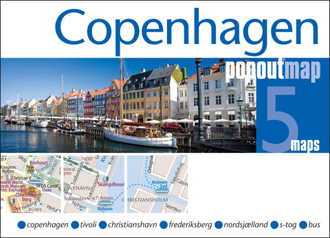 Buy map Copenhagen, Denmark, PopOut Map by PopOut Products