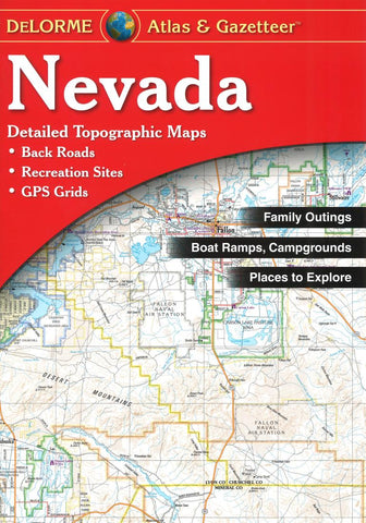 Buy map Nevada Atlas and Gazetteer by DeLorme