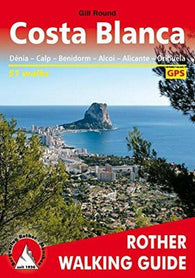 Buy map Costa Blanca,  Rother Walking Guide by Rother Walking Guide, Bergverlag Rudolf Rother