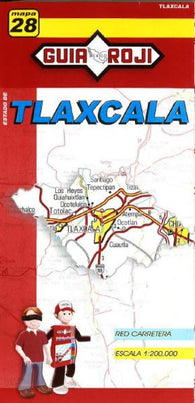 Buy map Tlaxcala, Mexico, State Map by Guia Roji