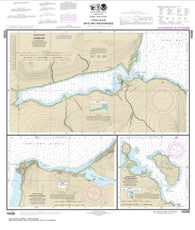 Buy map Bays and Anchorages, Kodiak Island Karluk Anchorage; Larsen Bay; Uyak Anchorage (16599-8) by NOAA