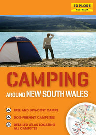 Buy map Camping Around New South Wales by Universal Publishers Pty Ltd