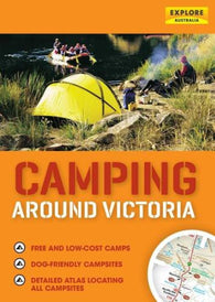 Buy map Camping Around Victoria: Australia by Universal Publishers Pty Ltd