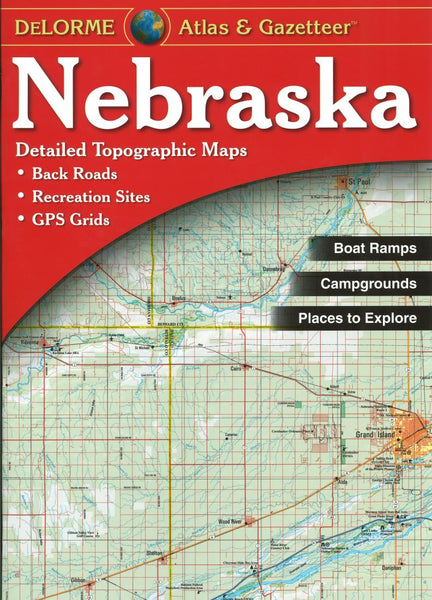 Buy map Nebraska Atlas and Gazetteer by DeLorme