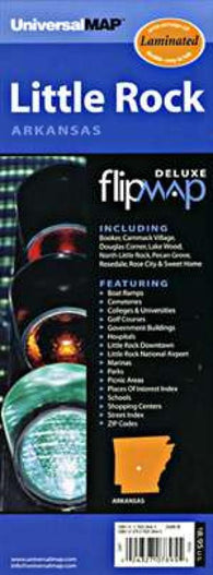 Buy map Little Rock, Arkansas, Flipmap by Kappa Map Group