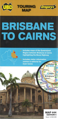 Buy map Brisbane to Cairns, Australia by Universal Publishers Pty Ltd