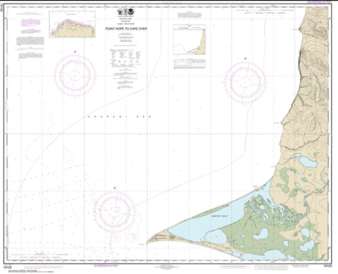 Buy map Point Hope to Cape Dyer (16123-7) by NOAA