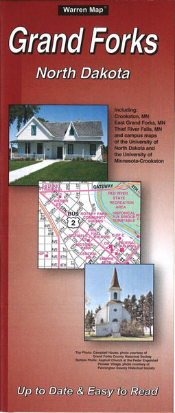 Buy map Grand Forks, North Dakota by The Seeger Map Company Inc.