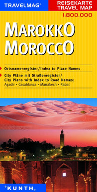 Buy map Morocco by Kunth Verlag