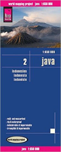 Buy map Java, Indonesia by Reise Know-How Verlag