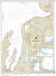 Buy map Grand Traverse Bay to Little Traverse Bay; Harbor Springs; Petoskey; Elk Rapids; Suttons Bay; Northport; Traverse City (14913-19) by NOAA