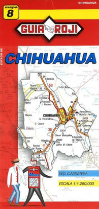 Buy map Chihuahua, Mexico, State Map by Guia Roji