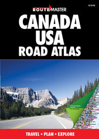 Buy map Canada and United States Road Atlas by Route Master