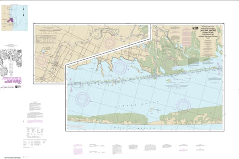 Buy map Intracoastal Waterway Laguna Madre - Chubby Island to Stover Point, including The Arroyo Colorado (11303-22) by NOAA