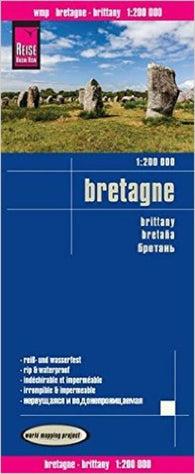 Buy map Brittany, France by Reise Know-How Verlag