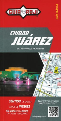 Buy map Juarez, Mexico, Map Booklet (Spanish ed) by Guia Roji