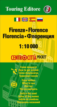 Buy map Florence, Italy Pocket Map by Touring Club Italiano
