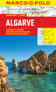 Buy map Algarve, Portugal by Marco Polo Travel Publishing Ltd