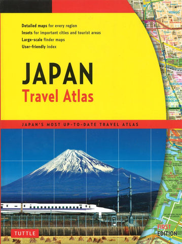 Buy map Japan Travel Atlas by Periplus Editions, Tuttle