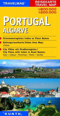 Buy map Portugal and Algarve by Kunth Verlag