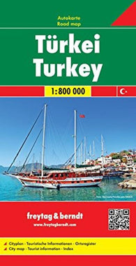 Buy map Turkey by Freytag-Berndt und Artaria