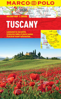 Buy map Tuscany, Italy by Marco Polo Travel Publishing Ltd