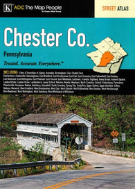 Buy map Chester County, Pennsylvania, Atlas by Kappa Map Group