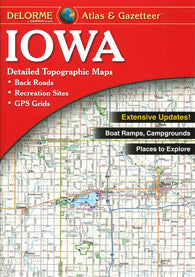 Buy map Iowa Atlas and Gazetteer by DeLorme