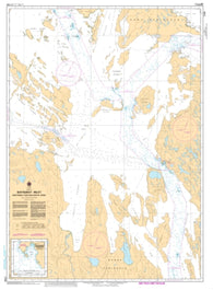 Buy map Bathurst Inlet - Northern Portion/Partie Nord by Canadian Hydrographic Service