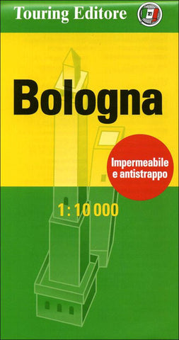 Buy map Bologna, Italy Pocket Map by Touring Club Italiano