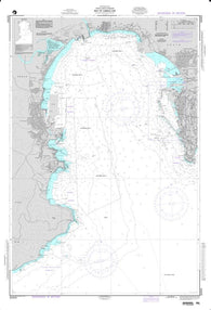 Buy map Bay of Gibraltar (NGA-52043) by National Geospatial-Intelligence Agency
