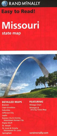 Buy map Missouri by Rand McNally