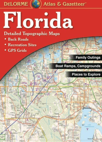 Buy map Florida Atlas and Gazetteer by DeLorme