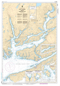 Buy map Bay dEspoir and/et Hermitage Bay by Canadian Hydrographic Service