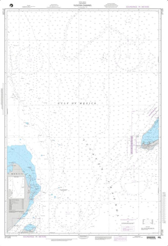 Buy map Yucatan Channel (NGA-27120-4) by National Geospatial-Intelligence Agency