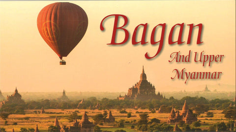Buy map Bagan and Upper Myanmar by Odyssey Publications