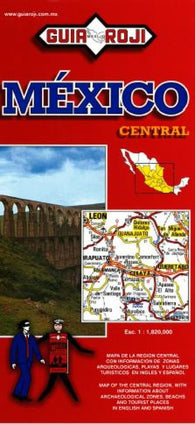 Buy map Mexico, Central, Tourist Map by Guia Roji