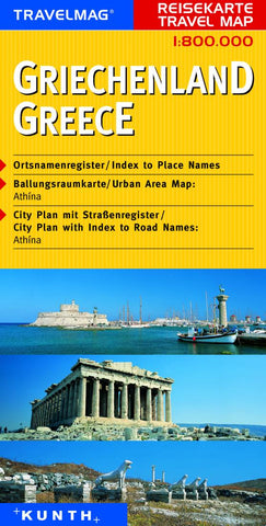 Buy map Greece by Kunth Verlag