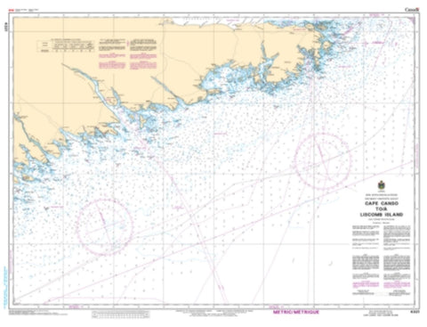 Buy map Cape Canso to Liscomb Island by Canadian Hydrographic Service