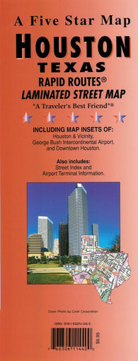 Buy map Houston, Texas Rapid Routes by Five Star Maps, Inc.