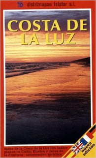 Buy map Costa de la Luz, Spain by Distrimapas Telstar, S.L.