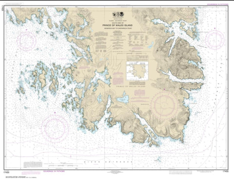 Buy map Kendrick Bay to Shipwreck Point, Prince of Wales Island (17433-12) by NOAA