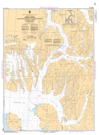 Buy map Eureka South and Southern Approaches/et les Approches du Sud Including/Y Compris Baumann Fiord by Canadian Hydrographic Service