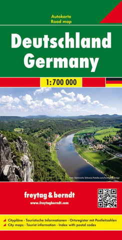 Buy map Germany by Freytag-Berndt und Artaria
