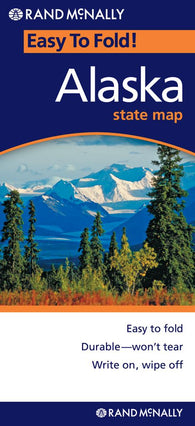 Buy map Alaska, Easy to Fold by Rand McNally