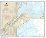 Buy map Toledo Harbor; Entrance Channel to Harbor (14847-31) by NOAA