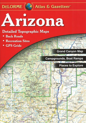 Buy map Arizona Atlas and Gazetteer by DeLorme